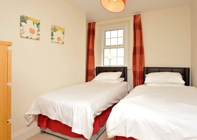 Bedroom #2 at 12 Trinity Mews, Torquay