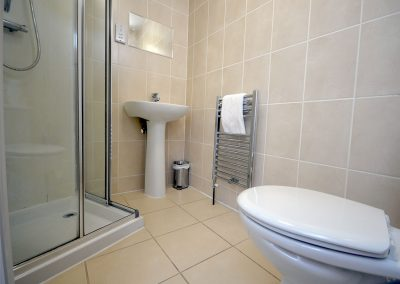 The bathroom at 12 Trinity Mews, Torquay