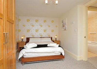 The bedroom at 30 Trinity Mews, Torquay