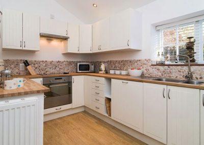 The kitchen @ Barn Cottage