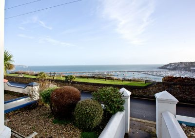 The panoramic view from Bay House, Brixham