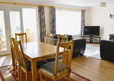 The dining area at Bolt Tail View, Thurlstone