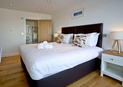 Bedroom #1 at Crest@64, Newquay