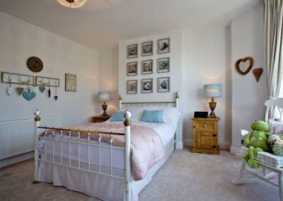 Bedroom #1 at Kerensa, Looe