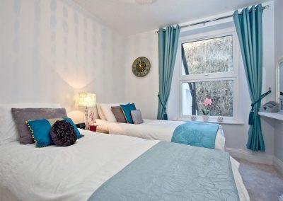 Bedroom #2 at Kerensa, Looe