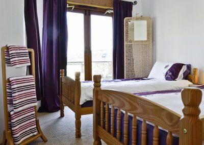 Bedroom #2 at Kettle's On, Higher Churchtown Farm, Tresmeer