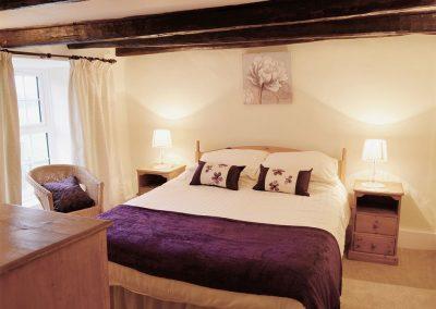 Bedroom #1 at Nan-Tis, St Issey
