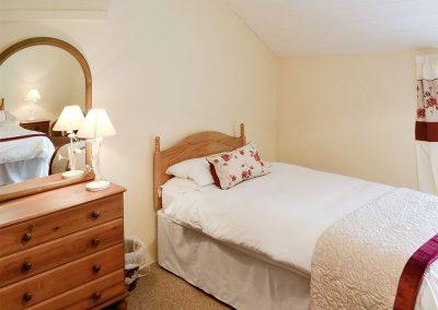 Bedroom #2 at Nan-Tis, St Issey