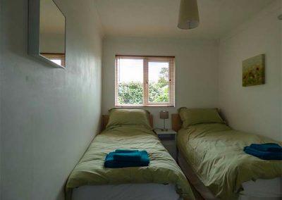 Bedroom #2 at Nans-Tek, Crackington Haven