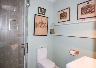 Bedroom #2 en-suite at Oyster Bay, Port Isaac