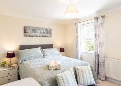 Bedroom #1 at Redsands, Paignton