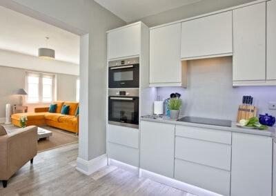 The kitchen at Sir Arthur Conan Doyle, 1 Elliot Terrace, Plymouth