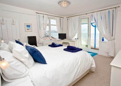 Bedroom #1 at The Beach House