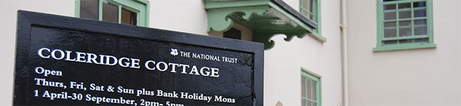 Coleridge Cottage is in a time warp, capturing the era when Samuel Taylor Coleridge lived in the village of Nether Stowey and clearly inspired his writing.