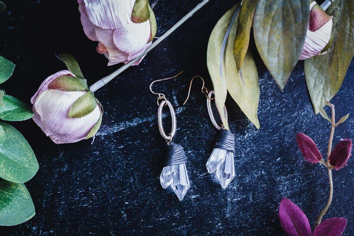 Crystal Earings