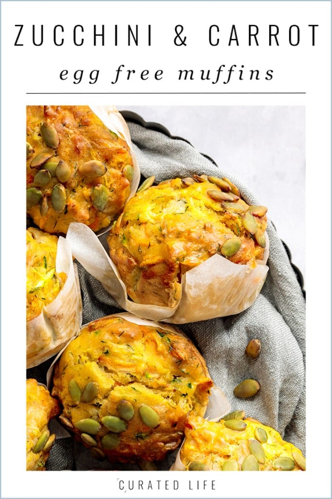 Proof that you can create yummy Vegan Savoury Muffins that are egg free and dairy free! Perfectfor fussy eaters, lunch box meals or with your favourite soup!  #egg-free #muffins #dairy-free #vegan #savoury #zucchini #healthy #recipe