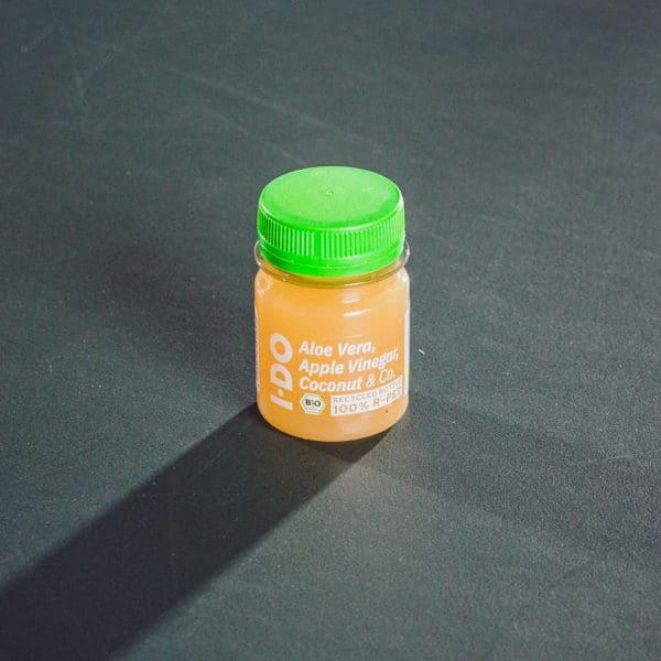 I·DO Ingwer Shot mit Aloe Vera Saft, Apfelessig, Kokosnusswasser & Co.