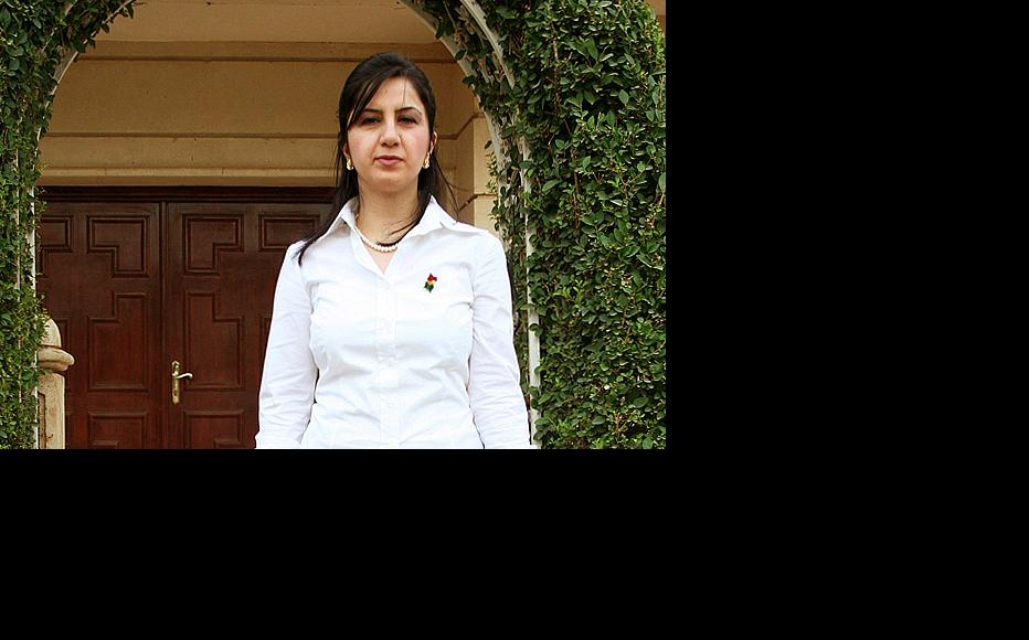 Former minister for Martyrs and Anfal affairs Chinar Sadullah is one of many women leaders who are concerned about the lack of female representation in top government posts in Iraqi Kurdistan.