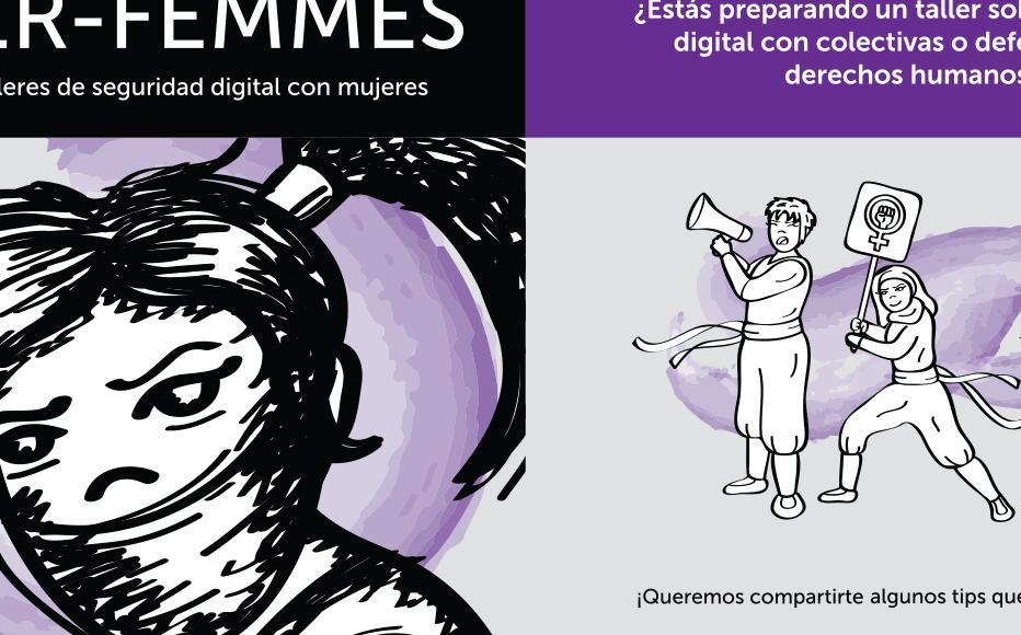Cyberwomen Spanish leaflet