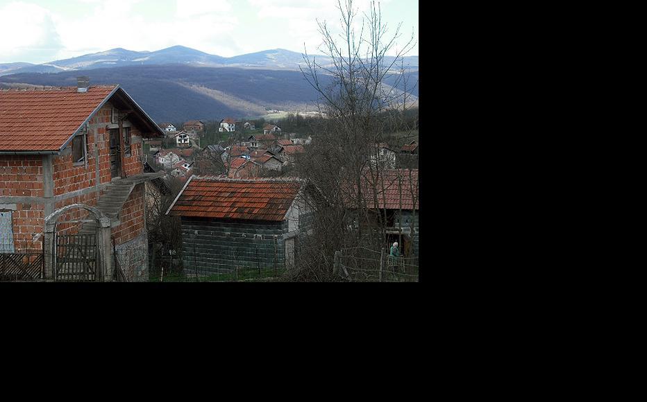 Lower Baljvine (Muslim part of the villlage). (Photo: IWPR)