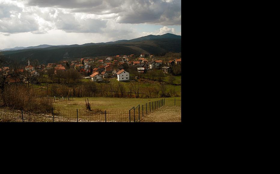 View of Lower Baljvine. (Photo: IWPR)