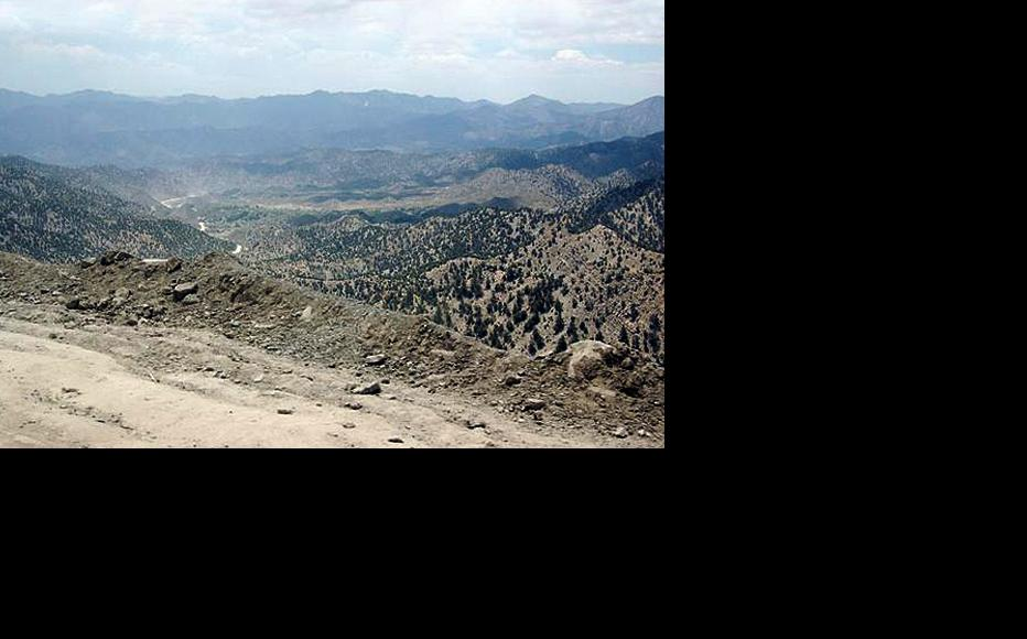 Although mountainous, Khost province offers a direct way into Pakistan. (Photo: Capt. John Severns/US Air Force/Wikimedia Commons)