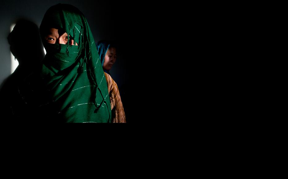 A shelter in Bamiyan province cares for battered women. (Photo: Paula Bronstein/Getty Images)