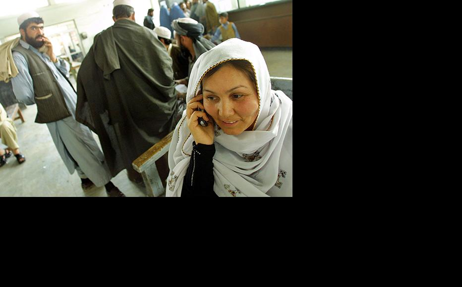 Many residents of Badakhshan are denied vital mobile phone access. (Photo: Natalie Behring-Chisholm/Getty Images)