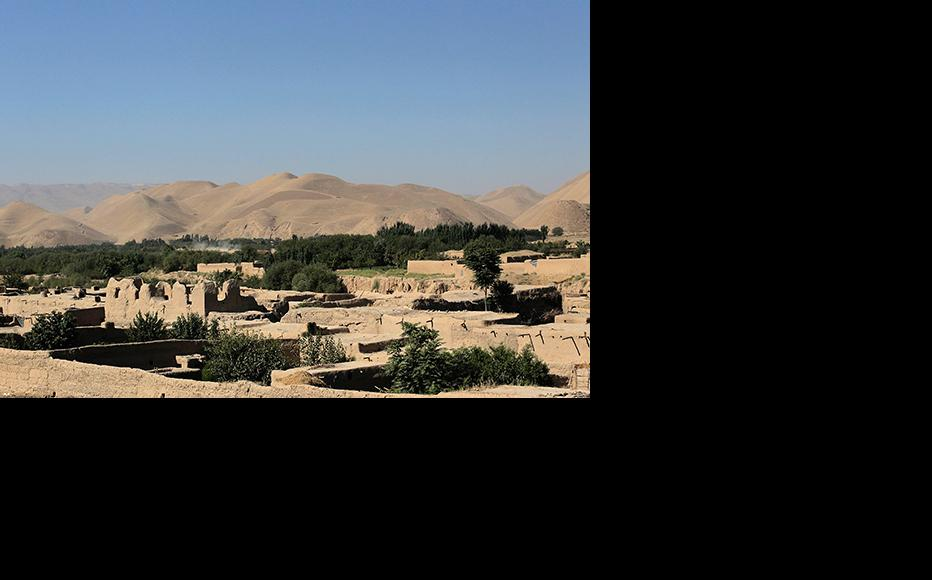 The north-western province of Badghis has many ancient sites and remains. (Photo: Chris Hondros/Getty Images)