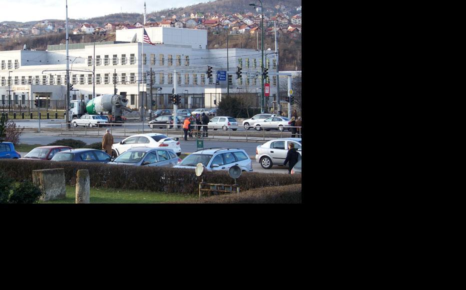The US embassy in Sarajevo. Photo:Merdijana Sadovic