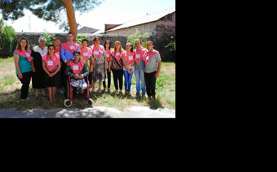 Staff at the Ighdz social enterprise. (Photo: Arpi Harutyunyan)
