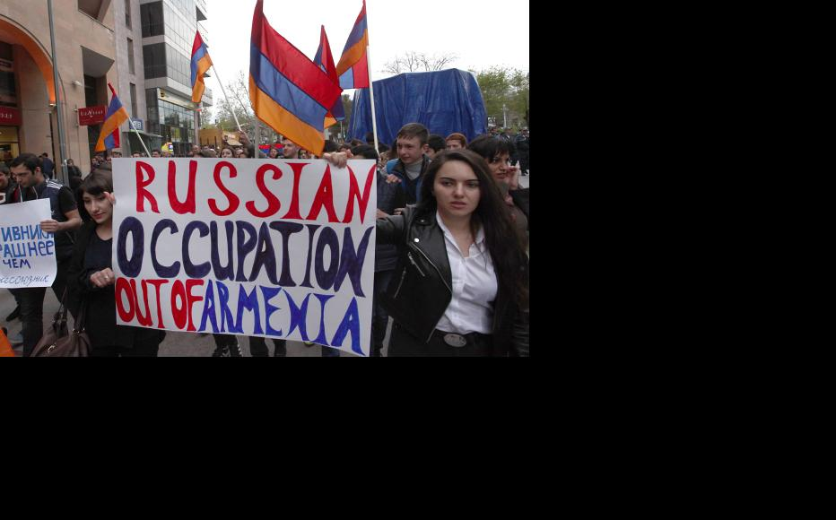 A protest against Russian policy. (Photo: Photolure Agency)