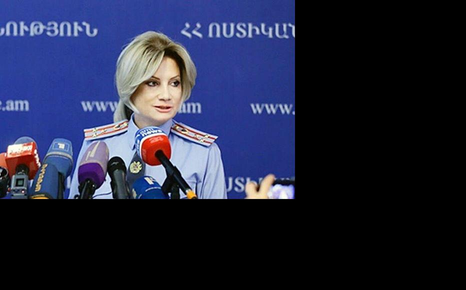 Nelly Duryan, who heads the police department that works to protect juveniles' rights and combat domestic violence, said that there had been no increase in reports of abuse. (Photo: Armenia Polie Department)