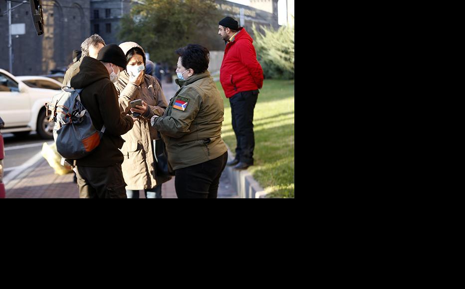 Karabakh residents return from Yerevan. (Photo: Official website of the Armenian Government)