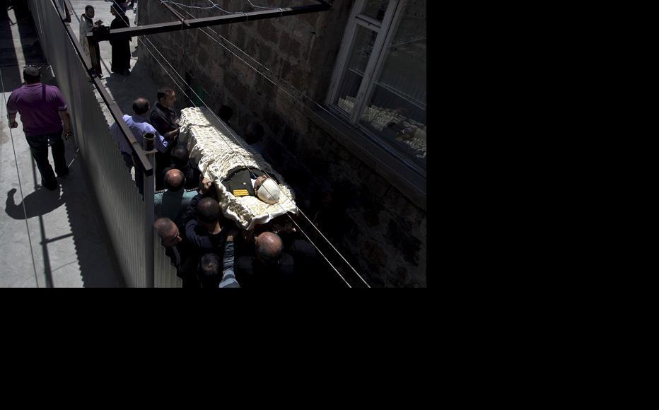 The funeral of Vahe Avetyan. (Photo: Anahit Hayrapetyan)