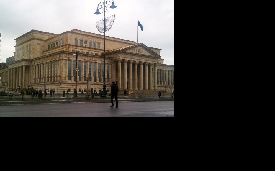 Azerbaijan's supreme court building. (Photo: Aziz Karimov)