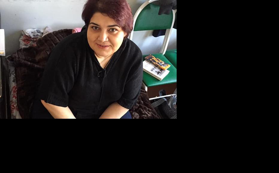 Prominent Azerbaijani investigative journalist Khadija Ismayil also joined the hunger strike. (Photo: Sanubar Heydarova)