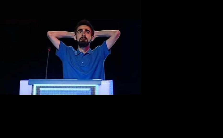 Giyasaddin Ibrahim faces a lengthy prison sentence. (Photo: Azeri Public Television)