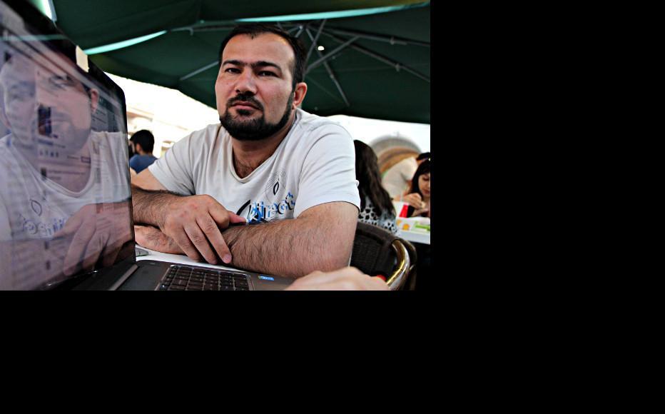 Seymur Hezi. (Photo:Fuad Hajiyev)