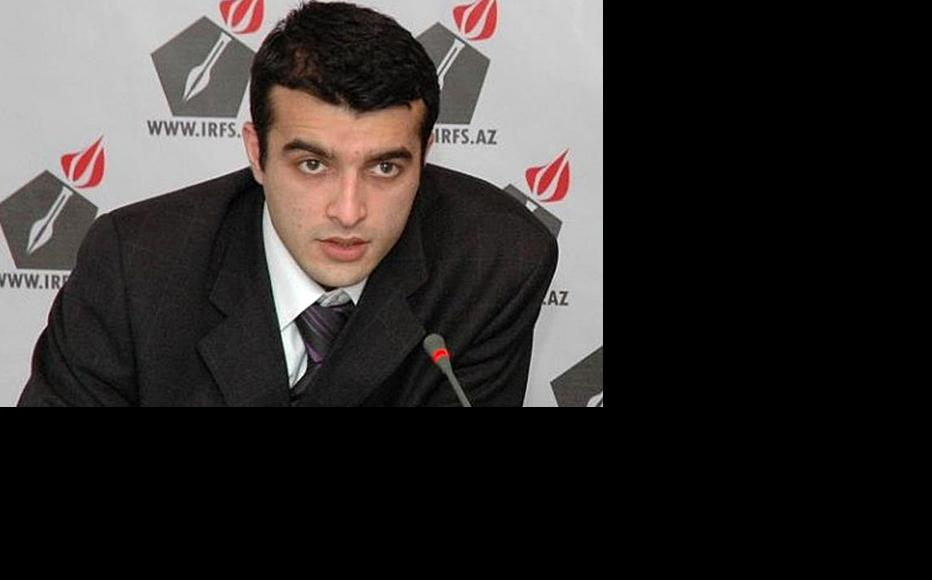 Rasul Jafarov, chairman of the Human Rights Club, is in detention awaiting trial. (Photo courtesy of R. Jafarov)