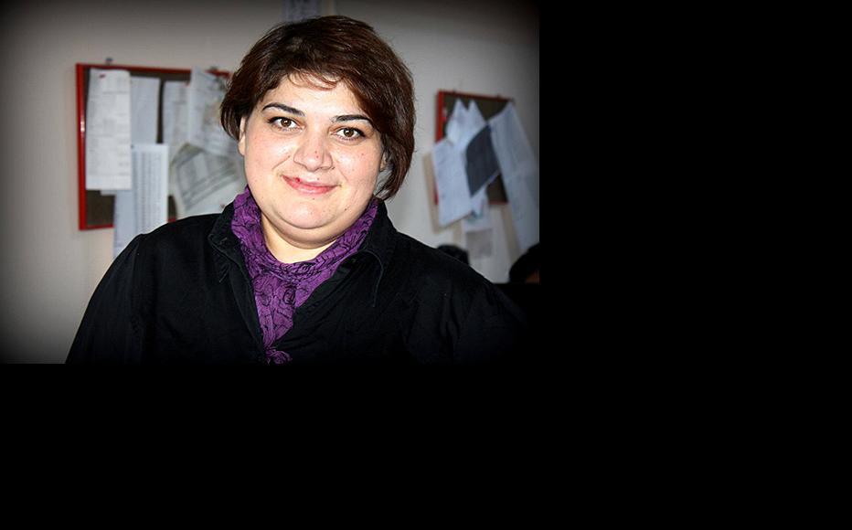 Khadija Ismayil. (Photo courtesy of Kh. Ismayil)