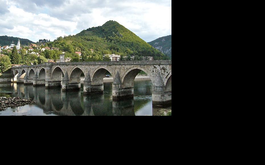 Visegrad's 16th century Ottoman bridge. (Photo: Philippe Le Moine/Flickr)