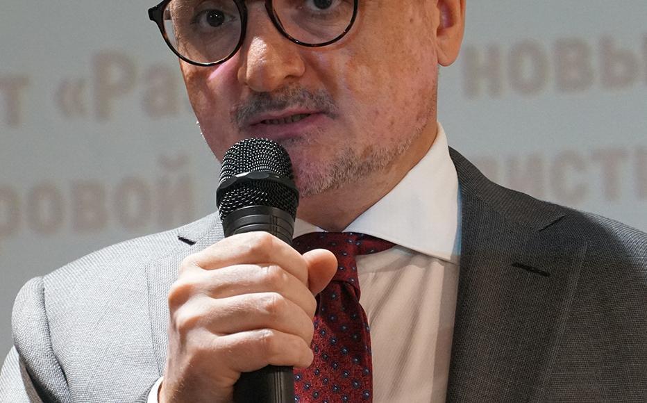 Abakhon Sultonazarov, IWPR's regional director for Central Asia.