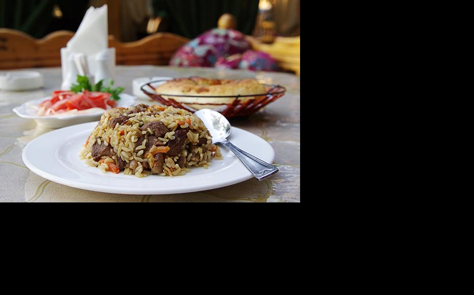 Plov is one of the most common festive treats across Central Asia. (Photo: Aziz Mamirov)