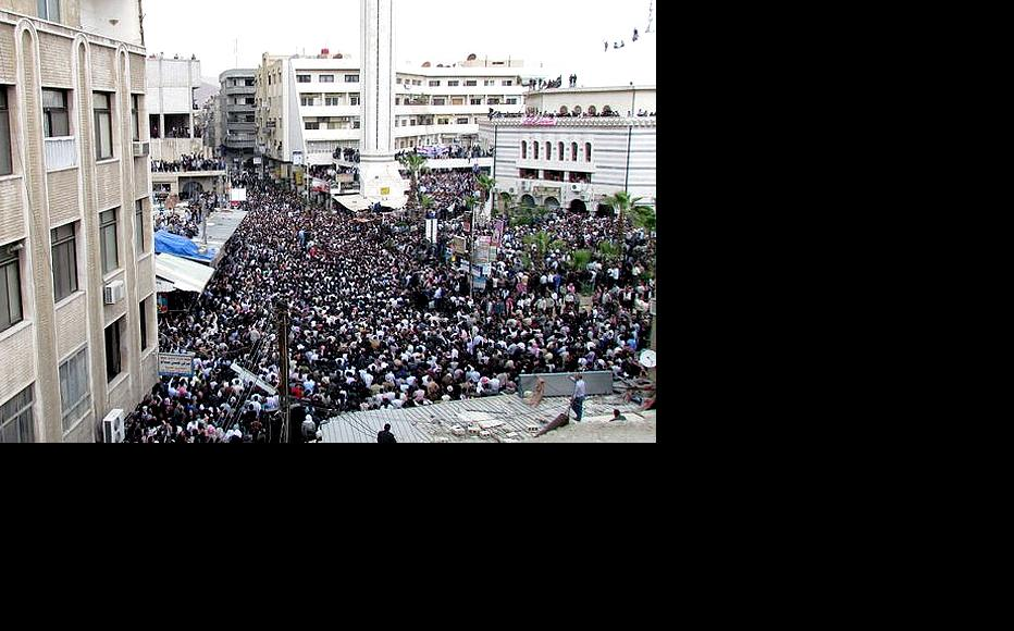 Protests in Damascus. (Photo: Syriana2011/Flickr)