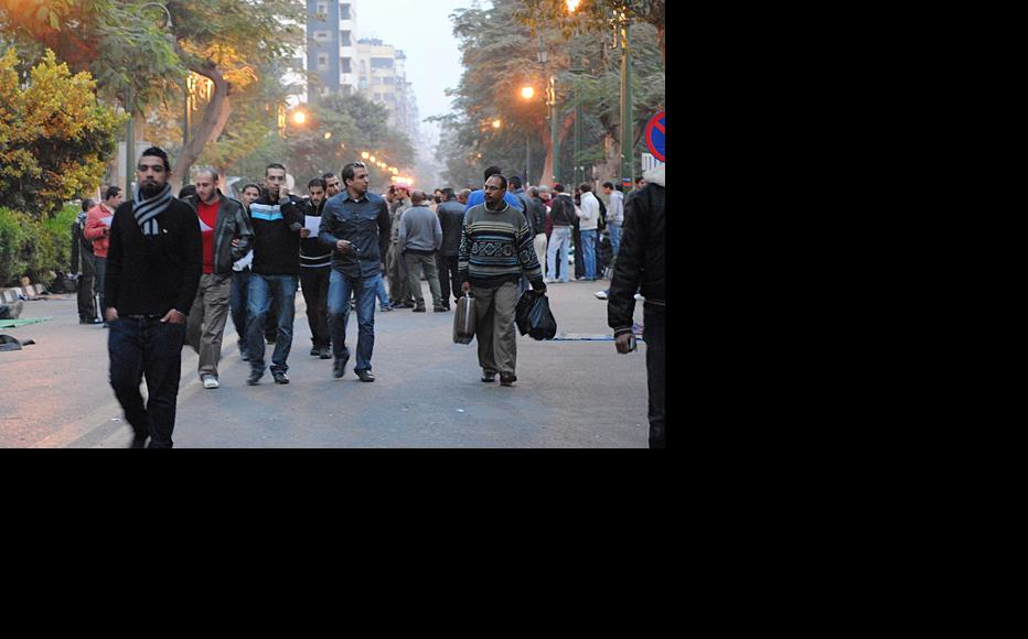 Demonstrators in Cairo, November 26, 2011. (Photo: Lilian Wagdy/Flickr)