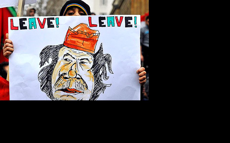 Muammar Gaddafi has become the butt of humour as fear of him subsides in Libya. (Photo: Crethi Plethi/Flickr)