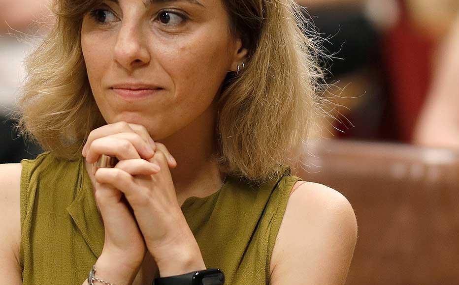 Natalia Vakhtangishvili, investigative journalist and an editor at Civil.ge in Georgia.
