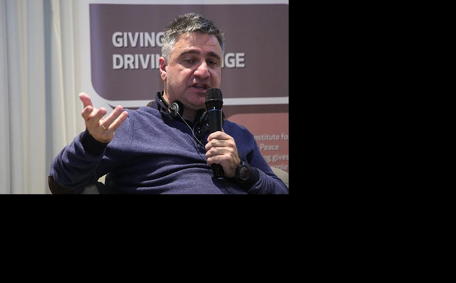 Toma Chagelishvili, documentary filmmaker, T-Studio. (Photo: IWPR)