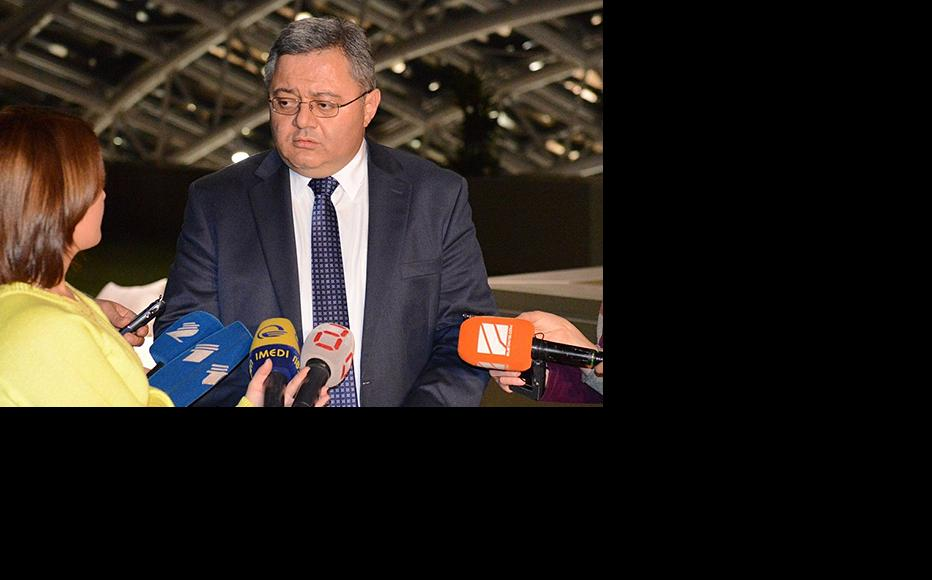 The speaker of Georgia's parliament, David Usupashvili, mounted a robust defence of the local government reform bill. (Photo: Georgian parliament website)